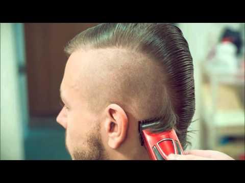 Стрижка ирокез! Укладка пивом! Mohawk haircut. styling beer.