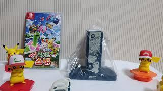 닌텐도스위치 호리 포켓몬스터 조이콘 충전스텐드 + PC…