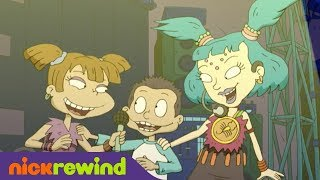 Tommy and Angelica Sing with Emica | Rugrats: All Growed Up Special | NickRewind