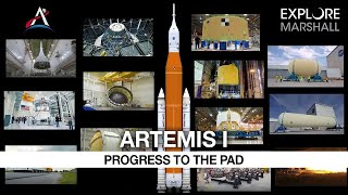 The Hardware For NASA's Artemis I Mission Comes Together