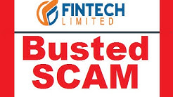 Fintech LTD Review - BUSTED SCAM Software!