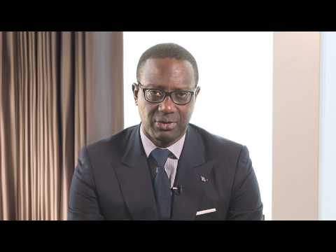 Congratulatory message from Tidjane Thiam, Group CEO, Credit Suisse