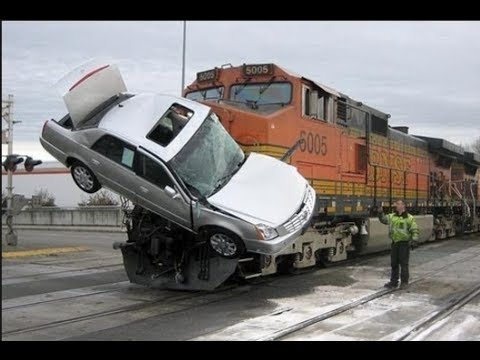 Train Crash Compilation Part 1