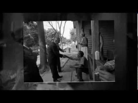 Lyndon Johnson Talks War on Poverty with Bill Moyers