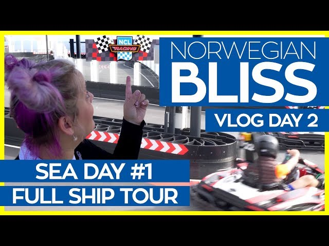 The Ultimate Guide to the Norwegian Bliss | Norwegian Bliss Cruise Vlog Day 02