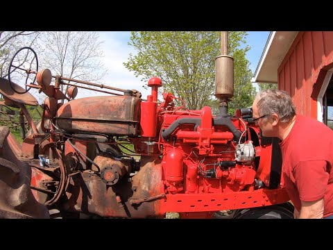 Will This Tractor Start After Sitting For 20 Years?