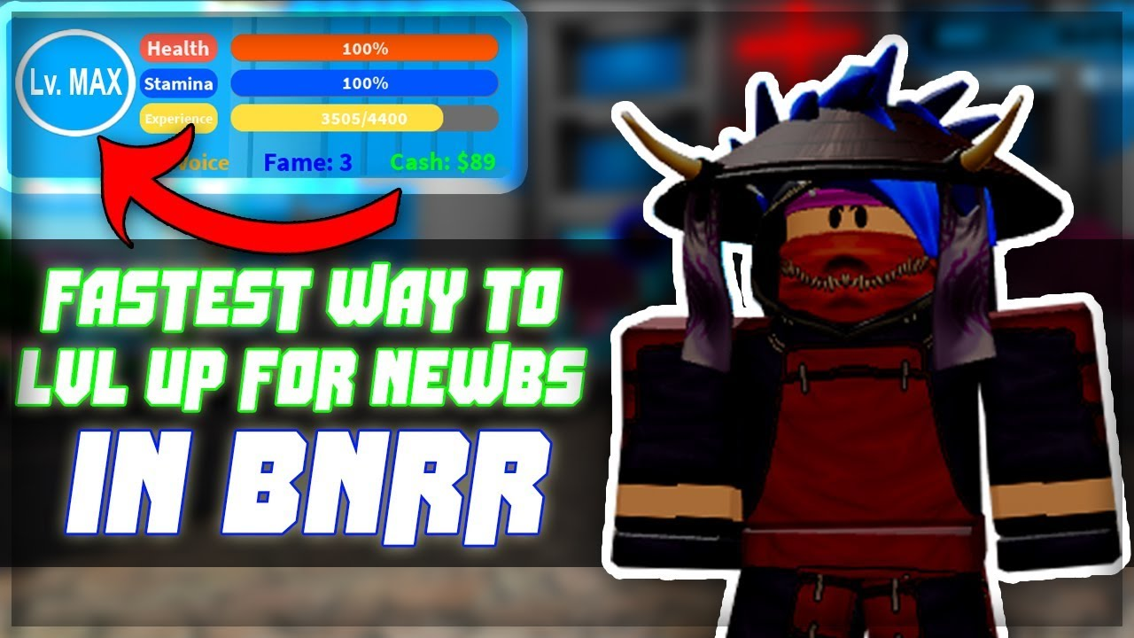 Fastest Best Way To Level Up For New Players Boku No Roblox
