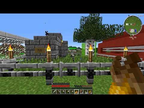 Minecraft: FAZENDINHA #30 - DECORANDO NOSSO JARDIM!  | FLOKIIS |