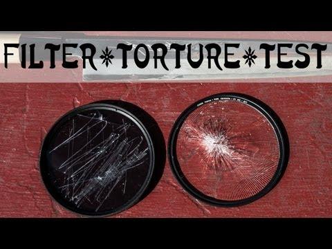 UV Filter - Torture testing