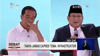 Berikut jawaban Calon Presiden nomor urut 02, Prabowo Subianto saat...