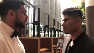 Amir Khan Meets Mikey Garcia - esnews boxing