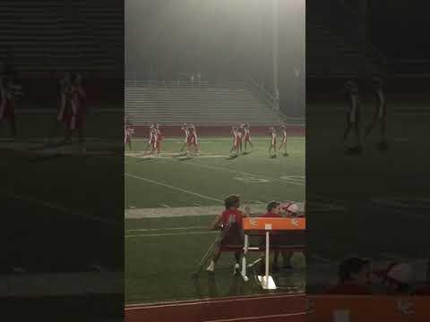 El campo middle school cheerleaders halftime show