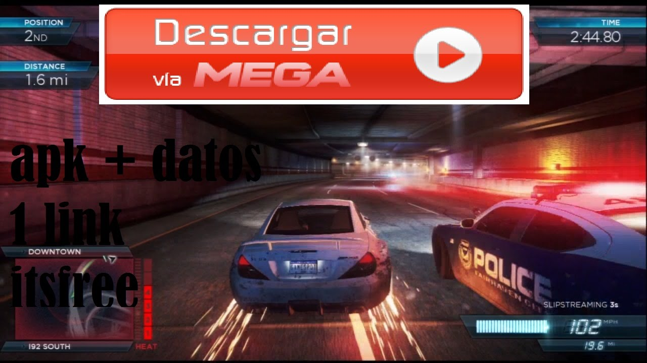descargar need for speed most wanted 2 para android