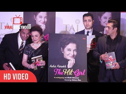 The Hit Girl Book Launch | Asha Parekh | Dharmendra, Jeetendra, Salman Khan