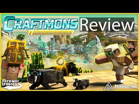 Minecraft Craftmons Ancient Jungle Gameplay Review (Pokemon Minecraft)