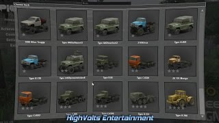 Spintires V08.11.15 How to Use Mods with New Update - In Game Mods from the Workshop