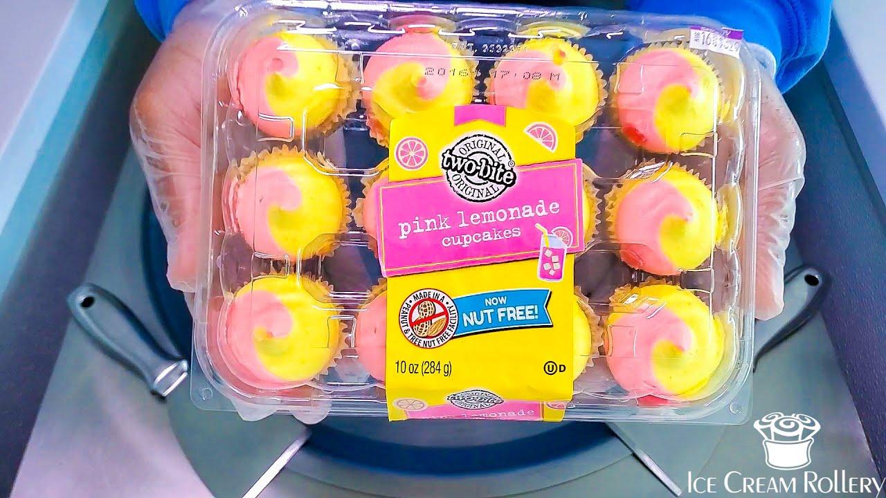 Ice Cream Rolls   Pink Lemonade Cupcakes   ASMR