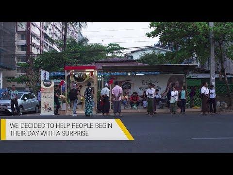 MultiVerse Advertising Bus Stop BTS