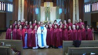 Thánh Lễ Mừng Kính Đức Mẹ Mân Côi Oct 15, 2017 & Ra Mắt Hội Mân Côi Oakland