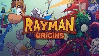 Совместное прохождение Rayman Origins 7 - Grumbling Grottos (Громовые гроты)