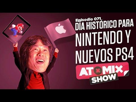 Día histórico para Nintendo y nuevos PS4 – #AtomixShow 071