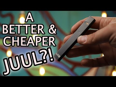 JUUL Killer! Loon Pods Pod System  Cheaper Than JUUL