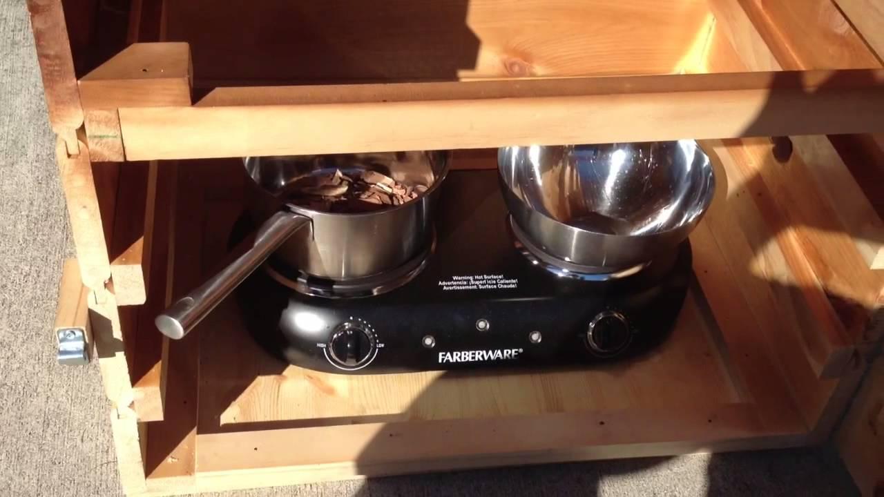 Homemade Wooden Meat Smoker