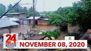 24 Oras Weekend Express: November 8, 2020 [HD]
