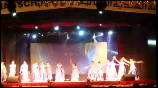 Save girl child - Bekhauff dance by Ideal indian school girls. (11thies)
