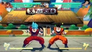How to make heavy attacks safe as Goku Blue