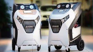 ECK NEXT - Полностью автоматическая установка для заправки кондиционеров.