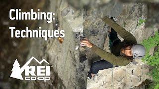 Rock Climbing: Climbing Techniques