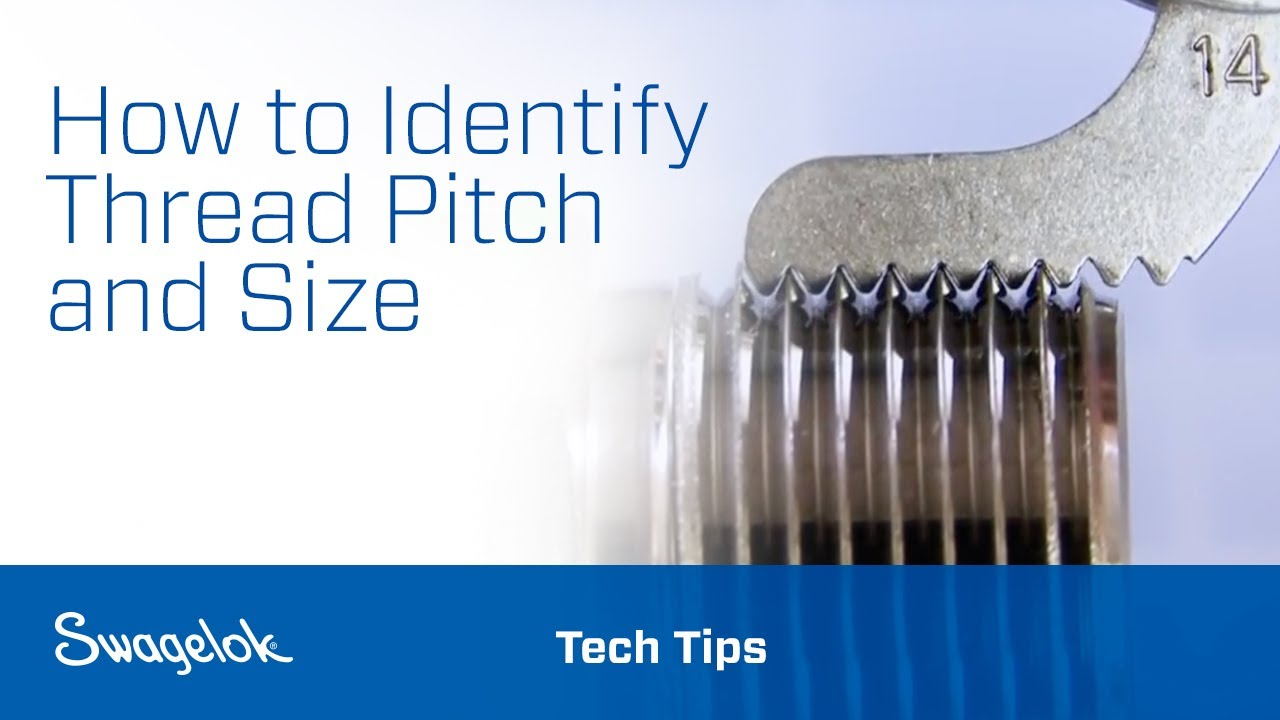 Identifying Thread Pitch & Size - YouTube