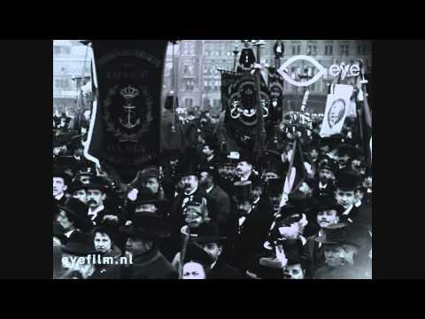 Aankomst van Paul Kruger te Amsterdam