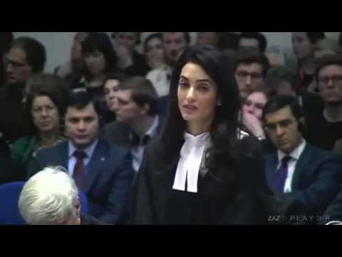 Amal Clooney ▶︎Speech about the Armenian | Greek and Syriac Genocide 1915