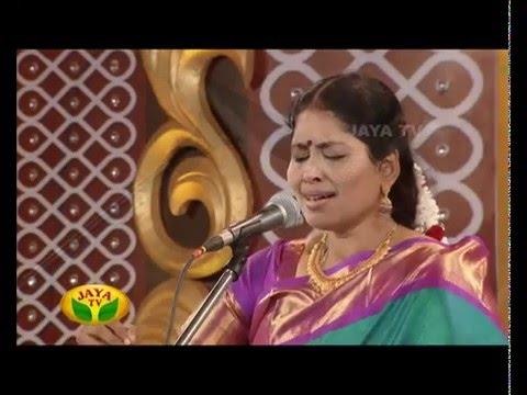 Margazhi Utsavam - Episode 15 Nithyasree Mahadevan On Friday,25/12/2015