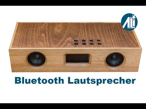 bluetooth lautsprecher geh use aus holz selbst gebaut youtube. Black Bedroom Furniture Sets. Home Design Ideas