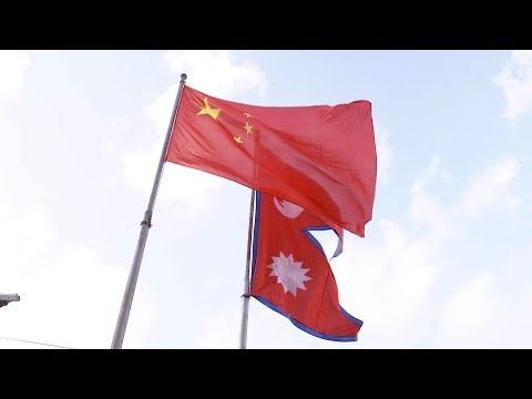 'China Red' lights up Nepal to welcome President Xi