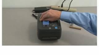 видео Принтер этикеток Zebra ZD500