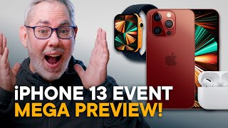 Apple September 2021 Event Preview — iPhone 13, Watch 7, AirPods 3, iPad mini!