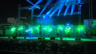 lumina -  The Neon Glory , Saffron Annual Function 2014