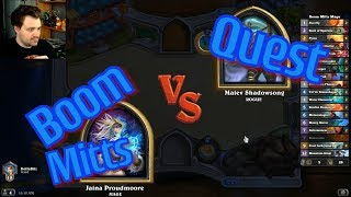 Elemental Hand Mage vs Quest Rogue - Hearthstone