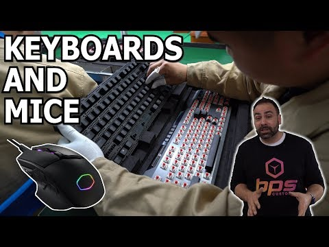 How Keyboards & Mice Are Made - China Factory Tour!
