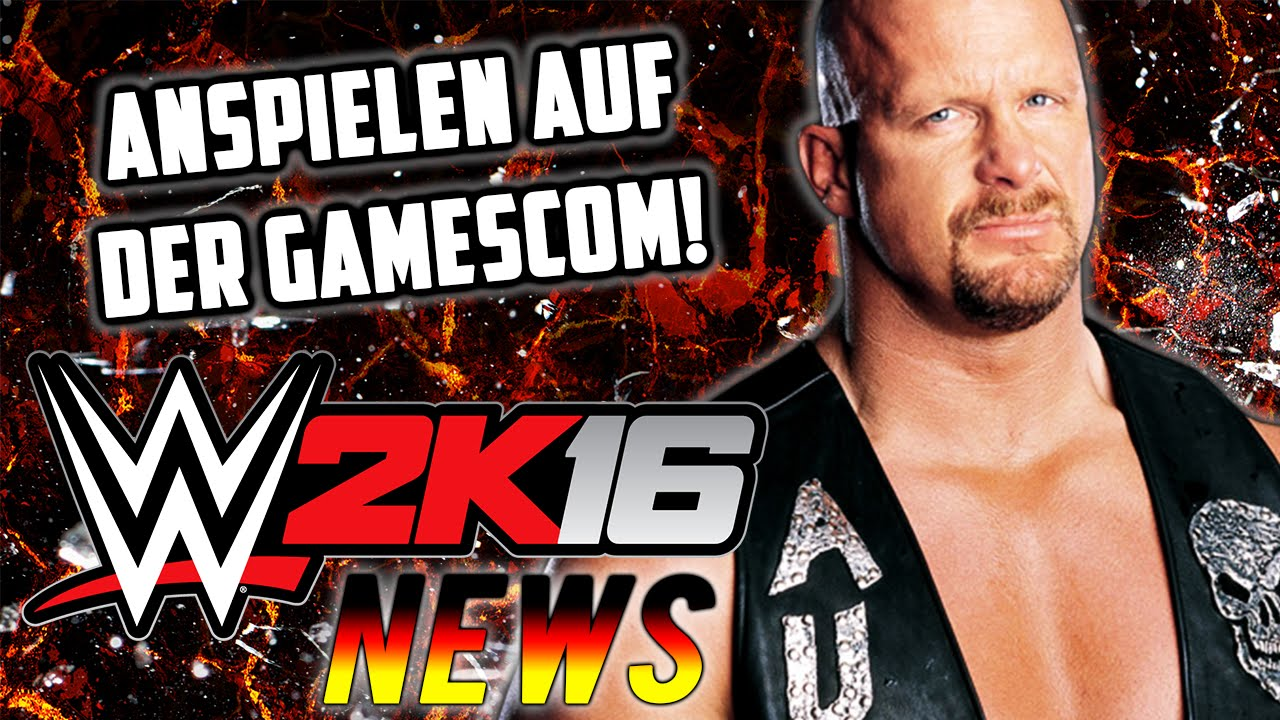wwe 2k16 deutsch gamescom 2015 pc version werbespot wwe 2k16 news german youtube. Black Bedroom Furniture Sets. Home Design Ideas