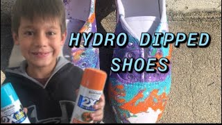 How to Hydro Dip Shoes ?