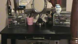 Vanity/ Makeup Storage and Organization - OrganizingObsession Thumbnail