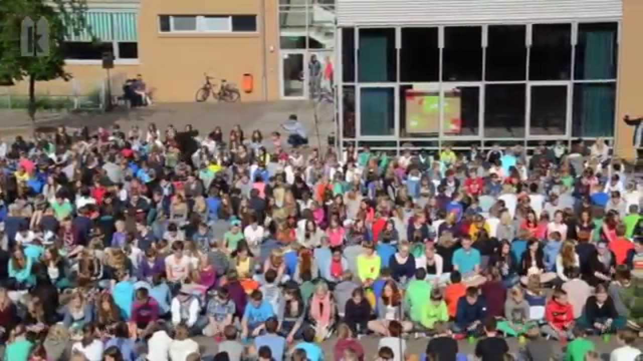 1.000 Schüler grooven zum \