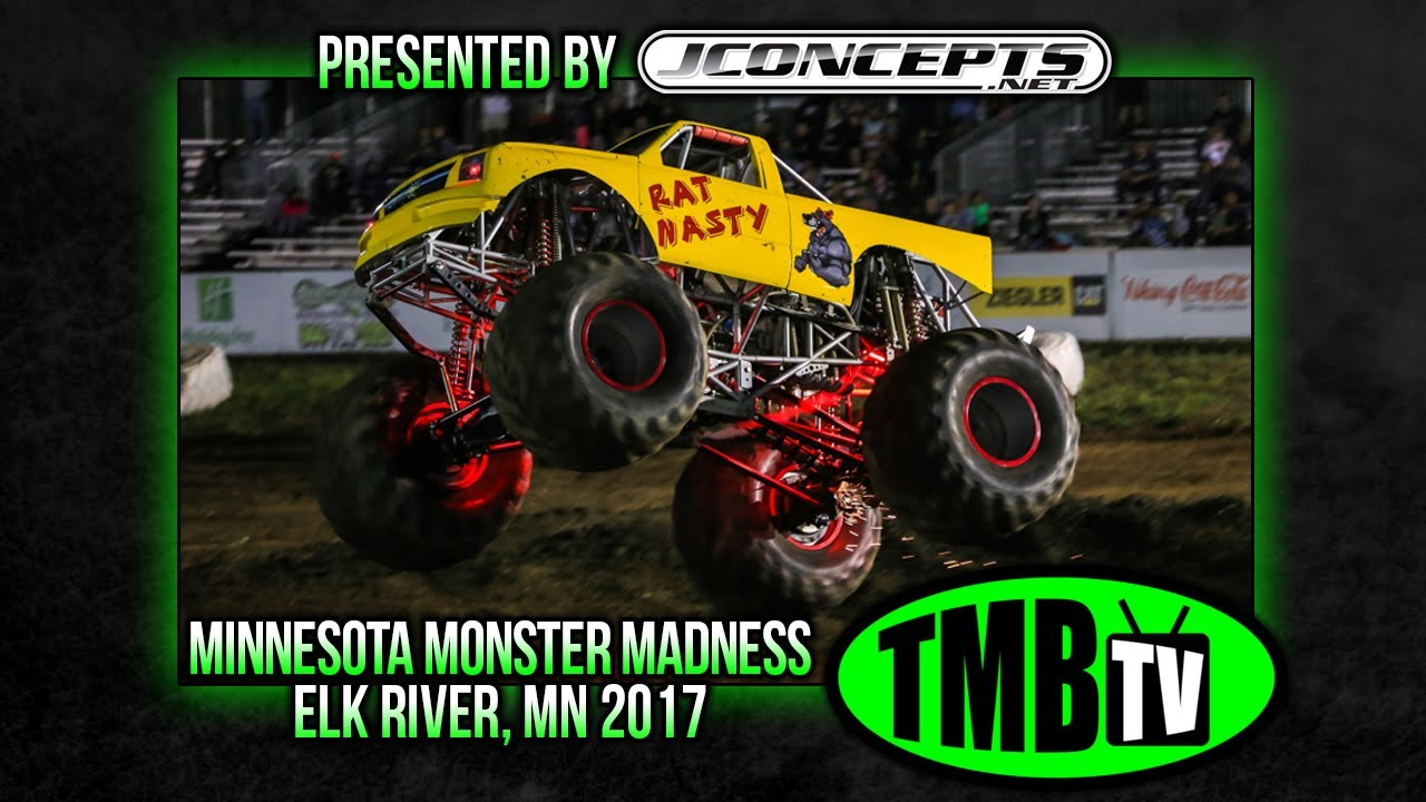 TMB TV Monster Trucks - Elk River, MN 2017 - 17 MONSTER TRUCK LINEUP!