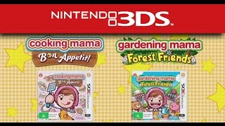 Cooking Mama & Gardening Mama Trailer (Nintendo 3DS)