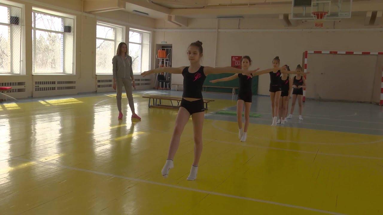 Видео с гимнастками тренеровки крупно фото 356-523